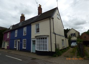 Thumbnail 2 bed end terrace house to rent in Bridge Street, Bungay
