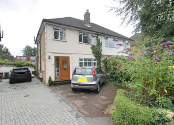 Thumbnail 4 bed semi-detached house for sale in Rutherford Way, Bushey Heath, Bushey