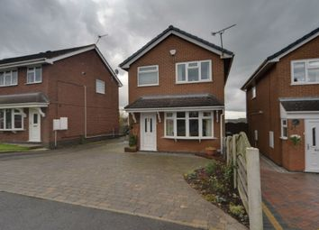 Thumbnail 3 bed detached house for sale in Browning Grove, Talke, Stoke-On-Trent, Staffordshire