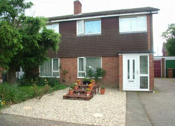 Thumbnail 3 bed semi-detached house for sale in Chapel Avenue, Long Stratton, Norwich
