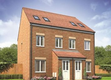Thumbnail 3 bedroom end terrace house for sale in Plot 158 Sutton, Cardea, Peterborough