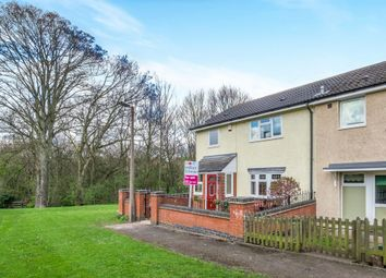 Thumbnail 3 bed end terrace house for sale in Chilton Drive, Watnall, Nottingham