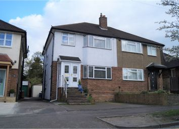 Thumbnail 3 bedroom semi-detached house for sale in Oakmere Avenue, Potters Bar