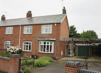 Thumbnail 3 bed semi-detached house for sale in Temperance Avenue, Messingham, Scunthorpe