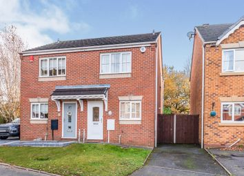Thumbnail 2 bed semi-detached house for sale in Fremantle Drive, Cannock