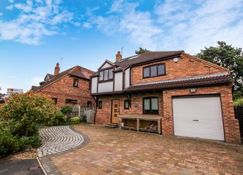 Thumbnail 4 bed detached house to rent in New Forge Court, Towthorpe Road, Haxby, York