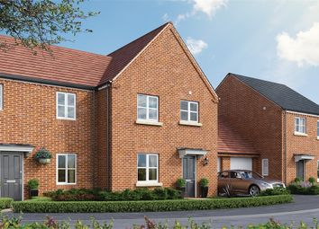 Thumbnail 3 bed semi-detached house for sale in Kier At Elsea Park, Phase 5, Bourne