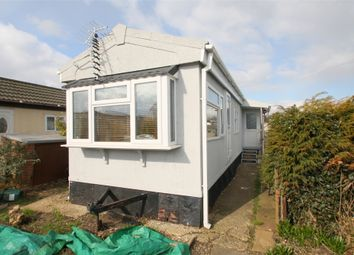 Thumbnail 1 bed mobile/park home for sale in Bourne Avenue, Penton Park, Chertsey, Surrey