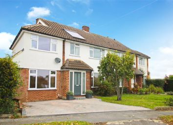 Thumbnail 4 bed semi-detached house for sale in Pyrford, Surrey