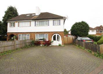 Thumbnail 3 bed semi-detached house to rent in Featherstone Road, Mill Hill