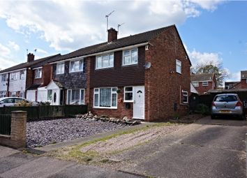 Thumbnail 3 bed semi-detached house for sale in Millfield Close, Anstey