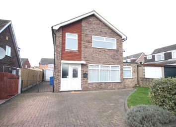 Thumbnail 3 bed detached house for sale in Adwick Close, Mickleover, Derby