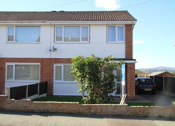 Thumbnail 3 bed semi-detached house for sale in Mountain View Avenue, Mynydd Isa, Mold, Flintshire