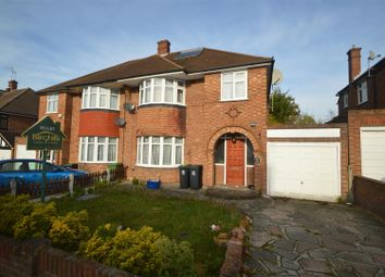 Thumbnail 3 bed semi-detached house for sale in Coolgardie Avenue, Chigwell