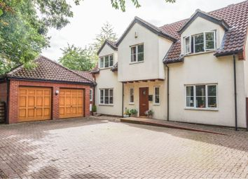 Thumbnail 4 bed detached house for sale in Barn Grove, Peterborough