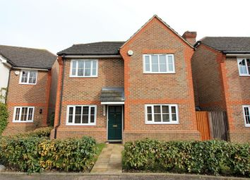 Thumbnail 4 bed detached house to rent in Knights Close, West Molesey
