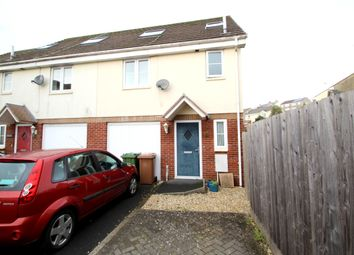 Thumbnail 3 bed town house to rent in Mount Tamar Close, Higher St Budeaux, Plymouth