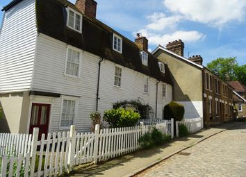 Thumbnail 2 bed terraced house for sale in High Street, Upnor, Rochester, Kent.