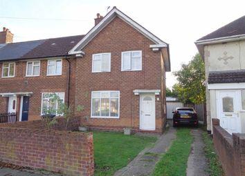 Thumbnail 2 bed end terrace house for sale in Hollington Crescent, Lea Village, Birmingham