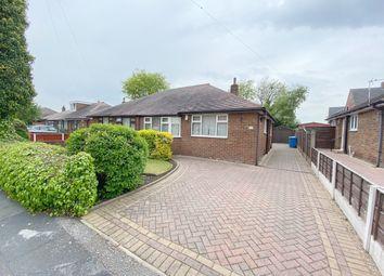 Thumbnail 2 bed semi-detached bungalow for sale in Southdale Road, Paddington, Warrington