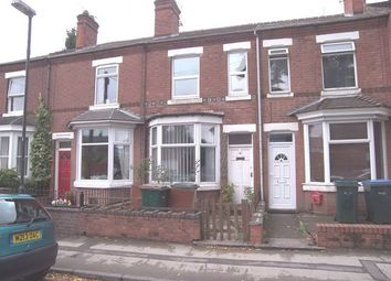 Thumbnail 4 bedroom terraced house to rent in Warwick Street, Earlsdon, Coventry, West Midlands