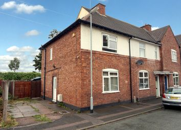 Thumbnail 4 bed end terrace house for sale in Bradford Street, Tamworth