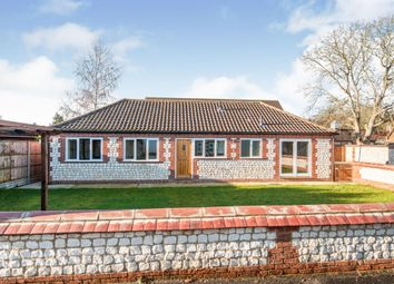 Thumbnail 3 bed bungalow for sale in Hall Lane, Northwold, Thetford