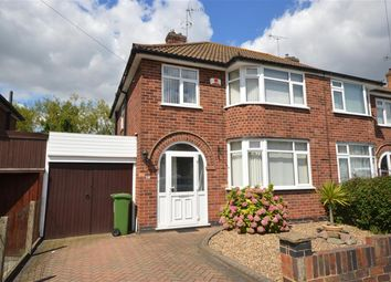 Thumbnail 3 bedroom semi-detached house for sale in Mossdale Road, Leicester