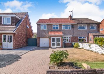 Thumbnail 4 bed semi-detached house for sale in Starbeck Drive, Little Sutton, Ellesmere Port