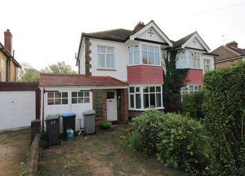 Thumbnail 4 bed semi-detached house for sale in Ravenscroft Avenue, Wembley