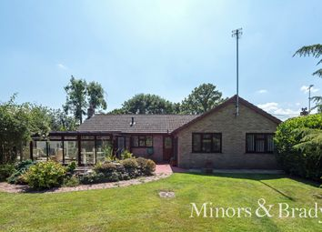Thumbnail 3 bed detached bungalow for sale in Frankfort, Sloley, Norwich