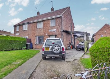 Thumbnail 3 bed semi-detached house for sale in Carrfield Road, Kenton, Newcastle Upon Tyne