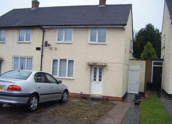 Thumbnail 2 bed terraced house to rent in St. Giles Road, Birmingham