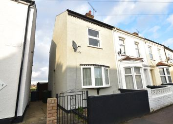 Thumbnail 2 bed end terrace house for sale in Milton Road, Swanscombe, Kent