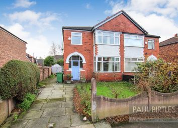 Thumbnail 3 bed semi-detached house for sale in Bradwell Avenue, Stretford