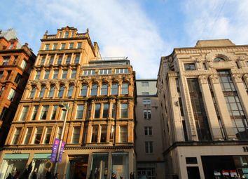 Thumbnail 2 bedroom flat to rent in Buchanan Street, City Centre, Glasgow