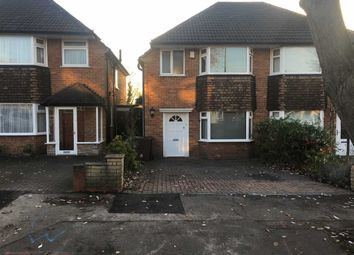Thumbnail 3 bed semi-detached house to rent in Wichnor Road, Solihull