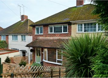 Thumbnail 3 bedroom semi-detached house for sale in Kentwood Hill, Tilehurst, Reading