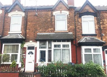 Thumbnail 3 bed terraced house to rent in Clarence Road, Handsworth, Birmingham