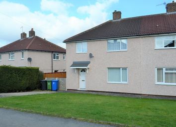 Thumbnail 3 bed semi-detached house to rent in Oakbank Avenue, Old Whittington, Chesterfield