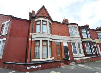 Thumbnail 2 bed end terrace house to rent in Mollington Road, Wallasey