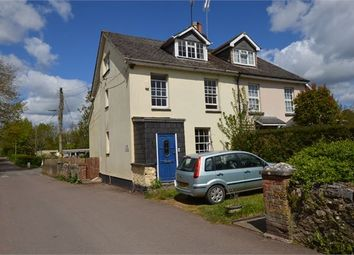 Thumbnail 4 bedroom cottage for sale in Church End Road, Kingskerswell, Newton Abbot, Devon.