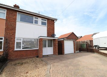 Thumbnail 3 bed semi-detached house for sale in St. Andrews Close, Long Stratton, Norwich