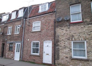 Thumbnail 2 bed terraced house to rent in Norwich Road, Wisbech
