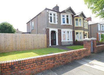Thumbnail 3 bed semi-detached house for sale in Heathway, Heath, Cardiff.