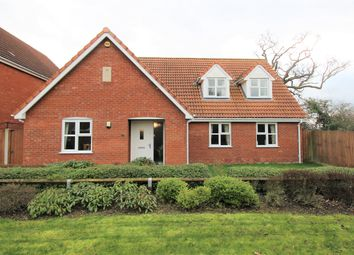 Thumbnail 4 bed detached house for sale in Lark Drive, Attleborough