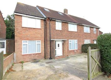Thumbnail 4 bed semi-detached house for sale in Rotherham Avenue, Luton, Bedfordshire