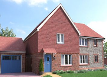 Thumbnail 3 bed link-detached house for sale in The Albourne, Wyvern Way, Burgess Hill