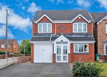 Thumbnail 4 bed detached house for sale in Woodruff Way, Walsall