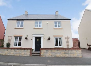 Thumbnail 4 bed detached house for sale in Merton Green, Caerwent, Caldicot